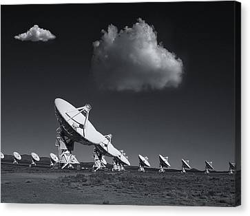 Canvas Print featuring the photograph VLA by Carolyn Dalessandro