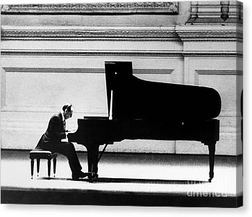 Vladimir Horowitz Canvas Print by Granger