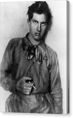 Vladimir Mayakovsky 1893-1930, Russian Canvas Print by Everett