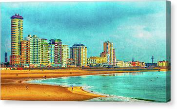 Vlissingen Skyline Canvas Print