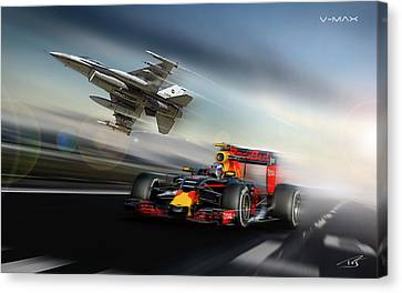 Vmax  Canvas Print by Peter Van Stigt