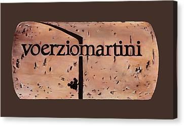 Voerziomartini Canvas Print by Danka Weitzen