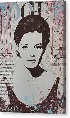 Vogue - Romy Canvas Print