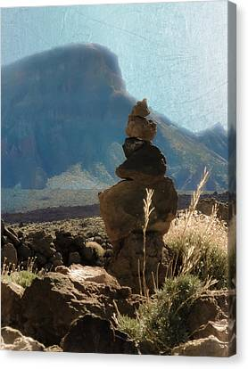 Volcanic Desert Composition Canvas Print by Loriental Photography