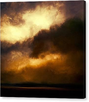 Volcanic Sky Canvas Print