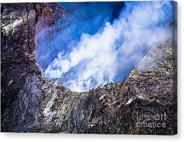 Canvas Print featuring the photograph Volcano by M G Whittingham