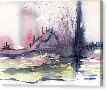 Volcano Canvas Print by Susan Mott
