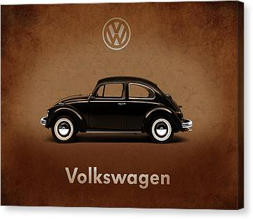 Volkswagen Beetle 1969 Canvas Print