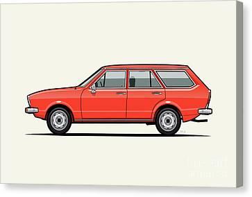 Volkswagen Dasher Wagon / Vw Passat B1 Variant Canvas Print