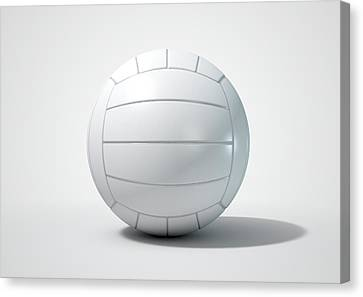 Volleyball Isolated Canvas Print by Allan Swart
