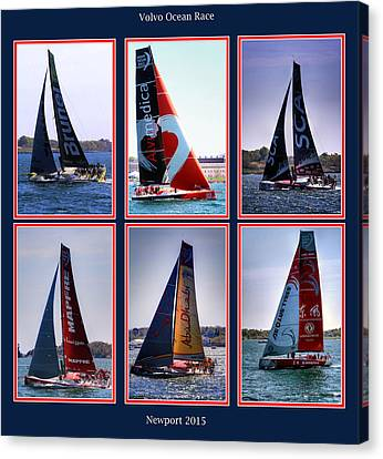 Volvo Ocean Race Newport 2015 Canvas Print