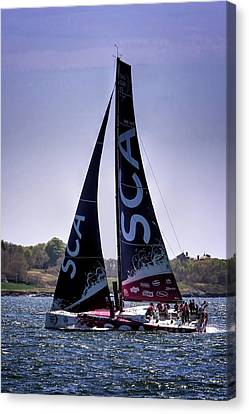Volvo Ocean Race Team Sca Canvas Print