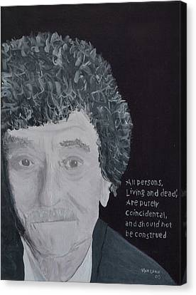 Vonnegut Canvas Print by Jay Van Loan