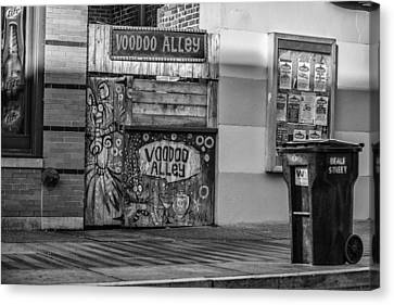 Cj Canvas Print - Voodoo Alley by CJ Schmit