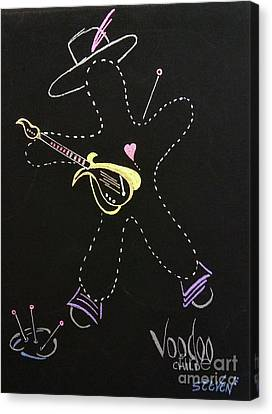 Voodoo Child Canvas Print by Steven Ross