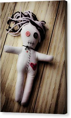 Voodoo Doll Canvas Print by Garry Gay