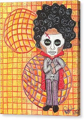 Voodoo Man Canvas Print