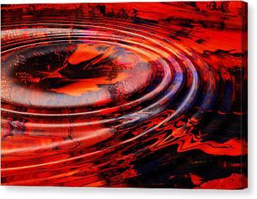 Vortex Canvas Print by Patricia Motley