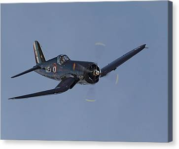 Vought Corsair Canvas Print by Pat Speirs