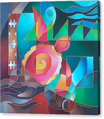 Voyager Pasifika Canvas Print by Maria Rova