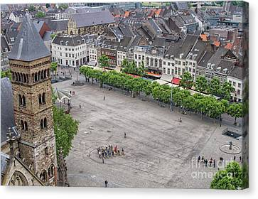 Vrijthof, Maastricht, The Netherlands Canvas Print by Patricia Hofmeester