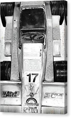 Wagon Canvas Print - Vroom by Tony Rubino