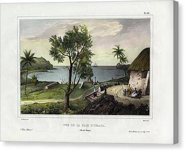 Vue De La Baie Dumata Umatic Bay Canvas Print