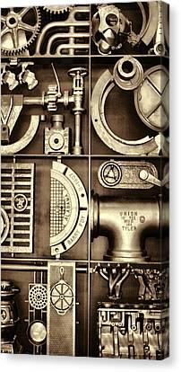 Vulcan Steel Steampunk Ironworks Canvas Print