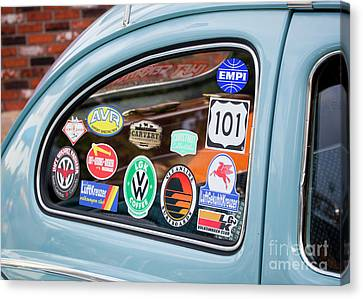 Canvas Print featuring the photograph Vw Club by Chris Dutton