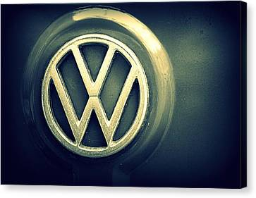 Vw Thing Emblem Canvas Print by Joseph Skompski