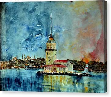 W 57 Istanbul Canvas Print by Dogan Soysal