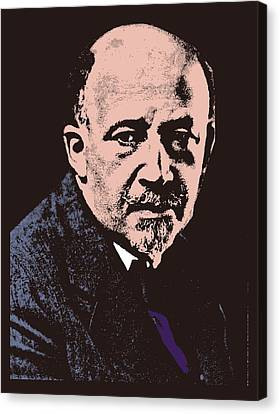 W. E. B. Du Bois Canvas Print by Otis Porritt