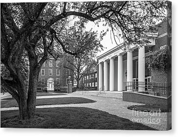 Indiana Rivers Canvas Print - Wabash College Sparks Center by University Icons
