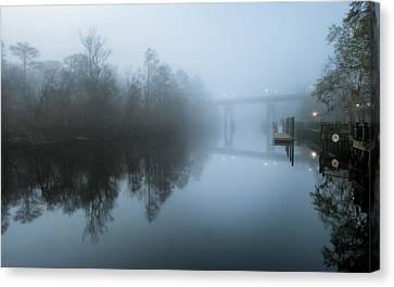 Waccamaw River Winter #1 Canvas Print