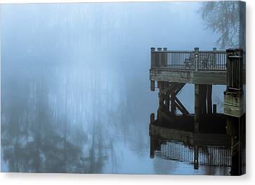 Waccamaw River Winter #2 Canvas Print