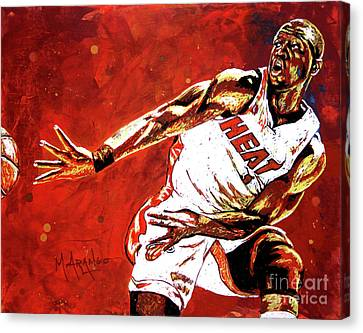 Wade Passes Canvas Print