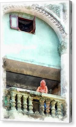 Cuba Canvas Print - Wages Of Time by Dawn Currie