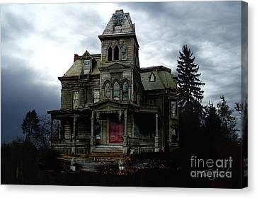 Wagner Mansion Canvas Print by Tom Straub