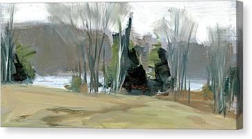 Wagon Hill Farm Canvas Print by Mary Byrom