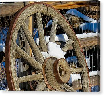 Wagon Wheel 1 Canvas Print