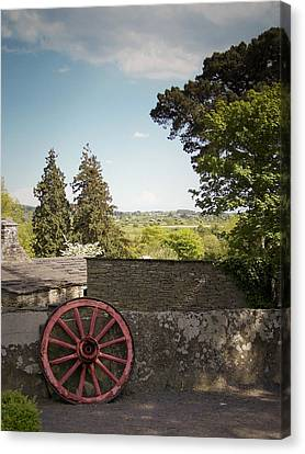 Wagon Wheel County Clare Ireland Canvas Print by Teresa Mucha