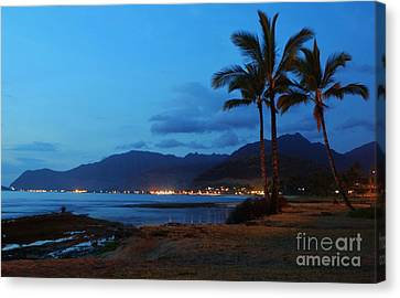 Waianae Night Canvas Print