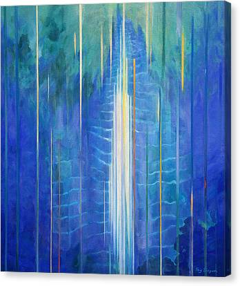 Sacred Artwork Canvas Print - Waimoku Falls by Fay Biegun - Printscapes