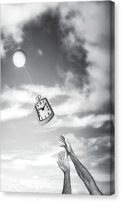 Drifts Canvas Print - Wait A Minute by Tom Mc Nemar
