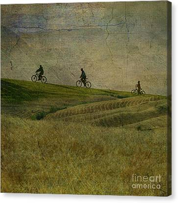 Artography Canvas Print - Wait For Me by AJ Yoder
