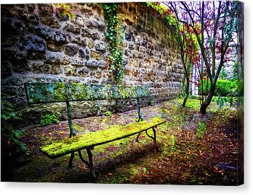Canvas Print featuring the photograph Waiting by Debra and Dave Vanderlaan