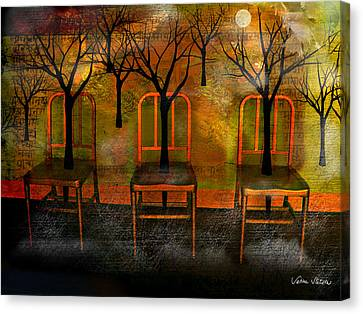 Waiting For A Miracle Canvas Print by Sabine Stetson