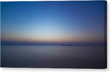 Waiting For A New Day Canvas Print