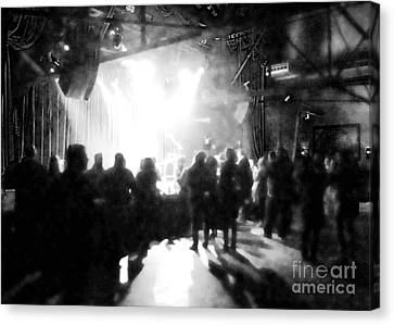 Canvas Print featuring the photograph Waiting For A Show by Utopia Concepts
