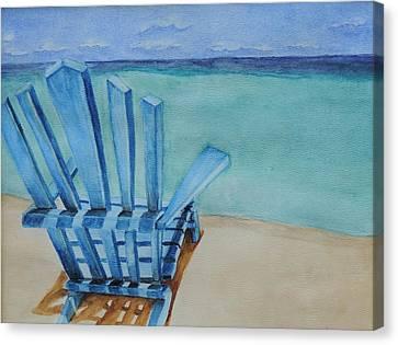 Waiting For Heaven Canvas Print by Katiana Valdes